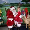 Rylie visits Santa Claus