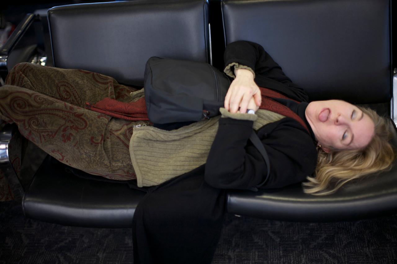Flight Delayed - Hour 4