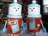 Cute Snowman tins