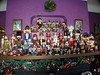 A small sampling of my sister's Nutcracker collection