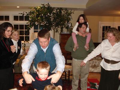 Cory, Mimi, Alex, Dada, Allen, Caroline and Mama