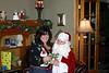 Santa sure made Nancy smile