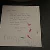 Kieran and Brenna's note to Santa