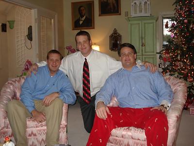 Ben, Jason and John