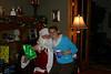 Katelyn with Santa
