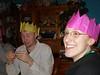 King Tim and Queen Rachel