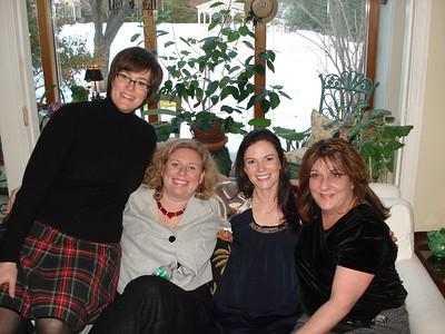 Jennie, Jo, Andrea and Jodes...where is Julia?