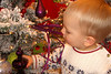 Luke wouldn't have anything to do with Santa, but the ornaments next to him were great!