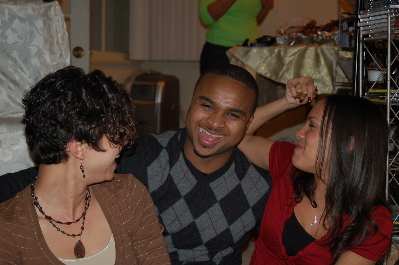 Cousins: Jaaye, Michal and Charis