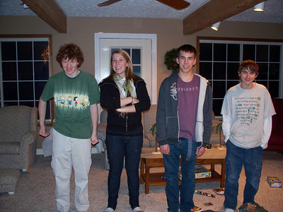 Christmas '08 at Jeff Havens with Boomers and Penelopes b-day before it