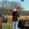 10. Christmas afternoon is gorgeous. 60 degrees. Time for a Cornhole game or two.