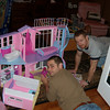 4. Jeremiah kept wanting to help Barbie change clothes.