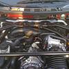 Engine shroud removed