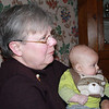 Mom with Colin on Christmas Eve