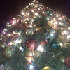 The Christmas tree at Las Americas outlet, south of San Diego.