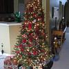Christmas Tree with lights on