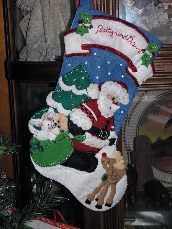 Dec 23.  The grandparents leave Santa a hint.