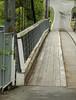 Otaki River suspension bridge near Otaki Forks.
