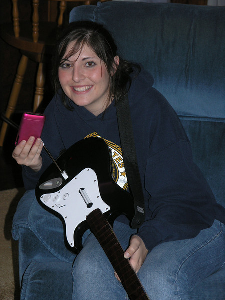 Dec 22.  The cell phone and the guitar.