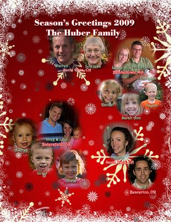 The Huber Christmas Letter 2009