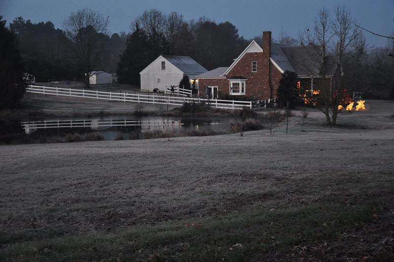Farm house on Macon near Fisherville