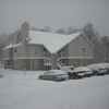 Residence Inn during the snowfall (had about 18 inches of it)