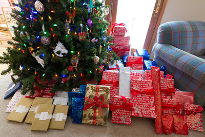 Most of these presents ended up being for Carrie ... she must have been very good.