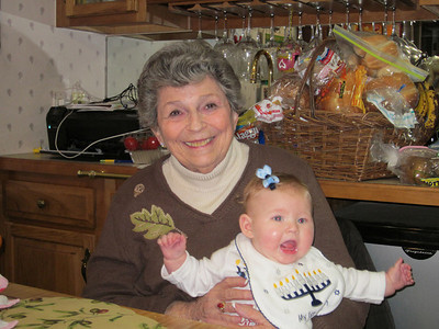 With Great-grandmother