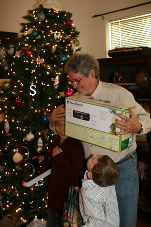 Granddad loves his FoodSaver