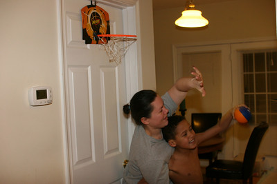 hoops with mommy