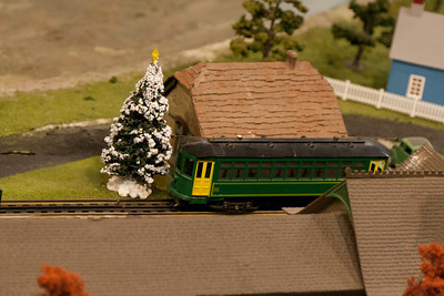 More model train display.