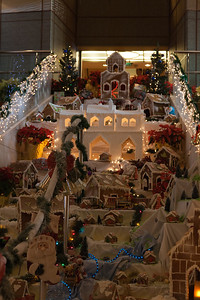 We don't need a grand staircase - we have gingerbread!