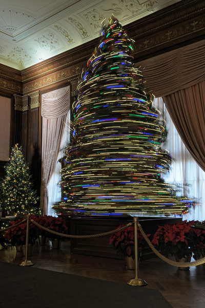Revolving Christmas Tree