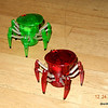 Hexbug spiders from Aunt Nina, the gift guru!