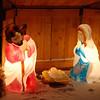 Nativity scene at Mom's house.