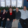 Christmas day: Michaela, Rosanne, Sid and Mike.
