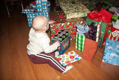David's first Christmas