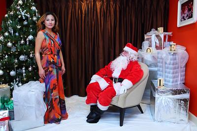 Santa at Tomvi's 2013