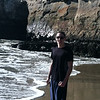 At Natural Bridges in Santa Cruz.