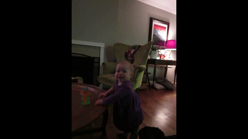 Our new camera records video when taking pictures, so you get a few seconds of video around each picture you take, and then it stitches them all together in one video.  This video has such short clips from Christmas Eve and Day.