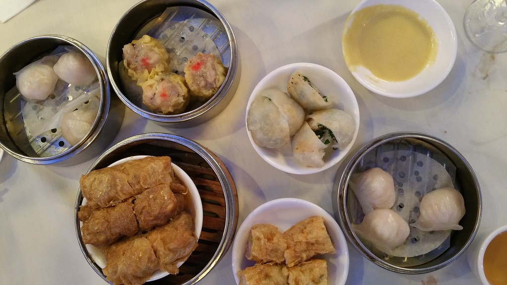 Dim Sum at China Star for lunch - for the Boxborough Paynes.