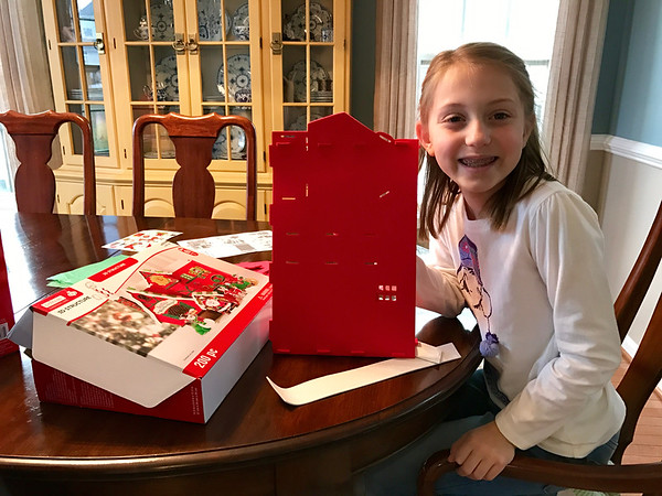 Building Christmas houses