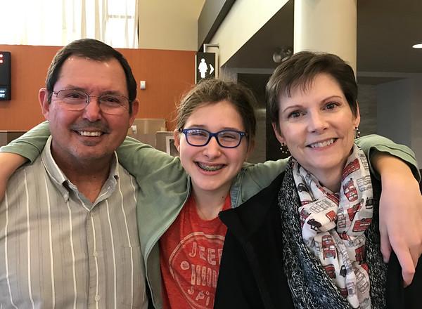 Nana, Papa and Madeline