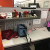 My decorated cubicle, 12/11/2017