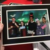Emmaline, Melissa, Brittany, me, and Jasmine in an awesome photo booth picture that was printed immediately! The Depot Express, 12/13/2017