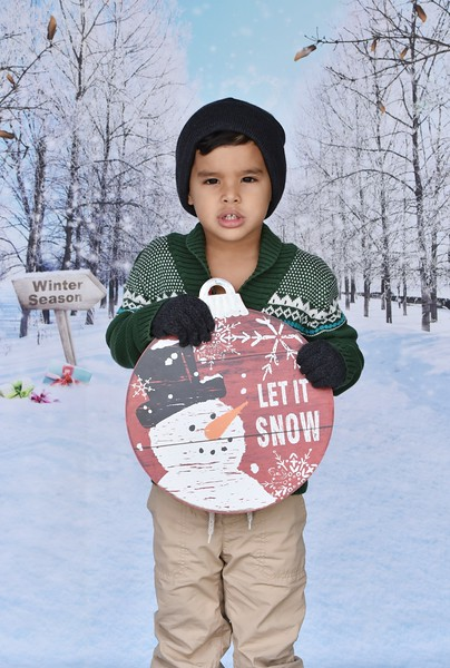 Adorable Mommy & Son Christmas Photo Session