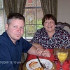 John and Sharron made it from San Francisco for the brunch and Christmas festivities. Un-fortunatly they couldn't stay for Christmas dinner at Ron & Lori's. You missed a fabulous dinner, John and Sharron...maybe next year you can stay and enjoy it with us.