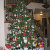 Patricia and Jeff's Christmas tree.