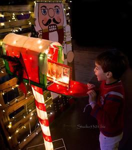 Boy Xmas mailbox WinterWond6670