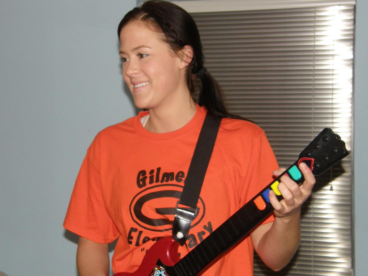 Sarah is a true Guitar hero!